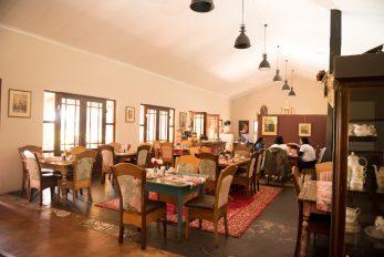 Tea Garden interior seating_